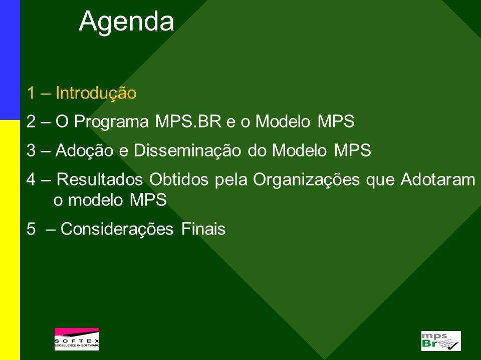 Até setembro 2009, 174 organizações brasileiras foram avaliadas em diversas regiões do país (24 no Centro Oeste, 31 no Nordeste, 2 no Norte, 99 no Sudeste e 18 no Sul).