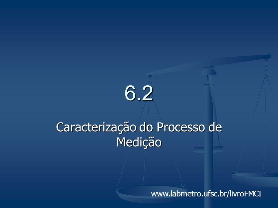 www.labmetro.ufsc.br/livroFMCI 6.2 Caracterização do Processo de Medição