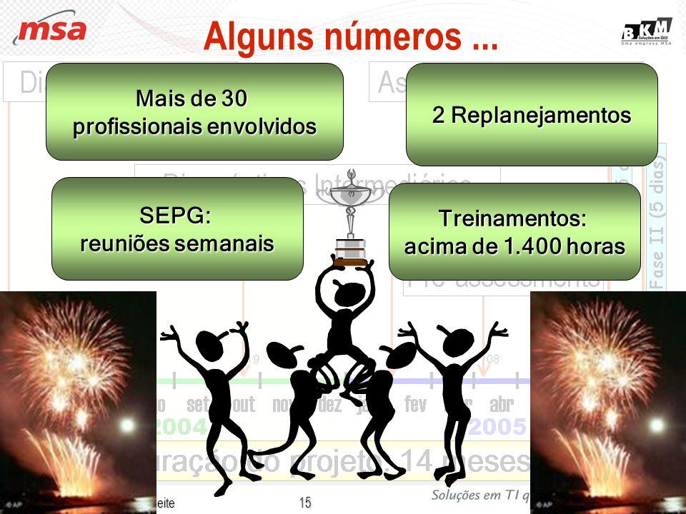 Cássia Rodrigues C. F. Leite 15 Alguns números... SEPG: reuniões semanais Treinamentos: acima de 1.400 horas Mais de 30 profissionais envolvidos 2 Rep