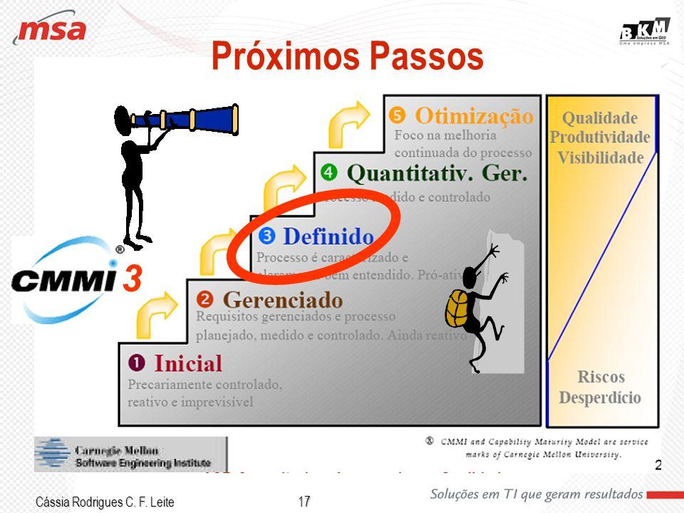 Cássia Rodrigues C. F. Leite 17 Próximos Passos 3