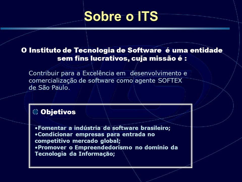 Contribuir para a Excelência em desenvolvimento e comercialização de software como agente SOFTEX de São Paulo. O Instituto de Tecnologia de Software é
