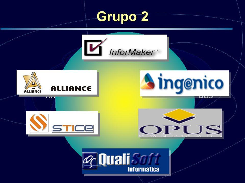 Início em Outubro de 2004, encontra-se na finalização da etapa de implantação dos processos Grupo 2