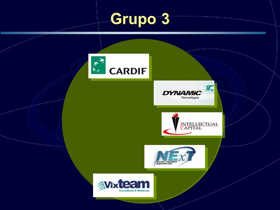 Início em Junho de 2005, encontra-se no início da fase de implementação Grupo 3