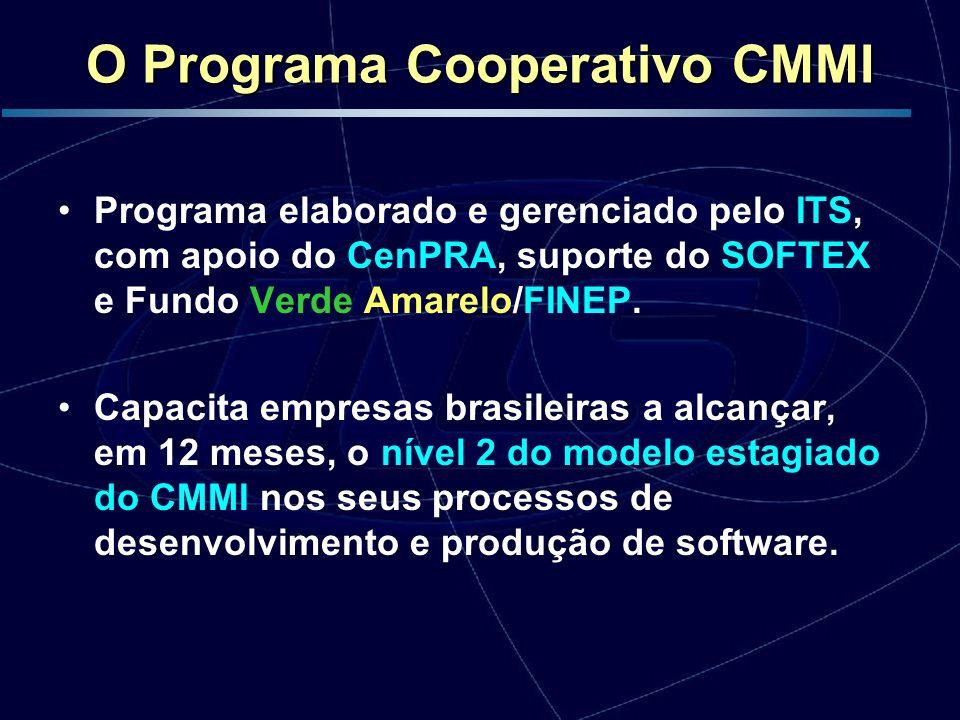 Programa elaborado e gerenciado pelo ITS, com apoio do CenPRA, suporte do SOFTEX e Fundo Verde Amarelo/FINEP. Capacita empresas brasileiras a alcançar