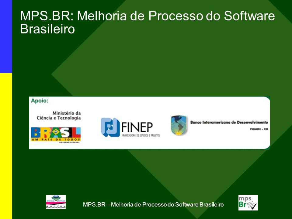 MPS.BR – Melhoria de Processo do Software Brasileiro MPS.BR: Melhoria de Processo do Software Brasileiro