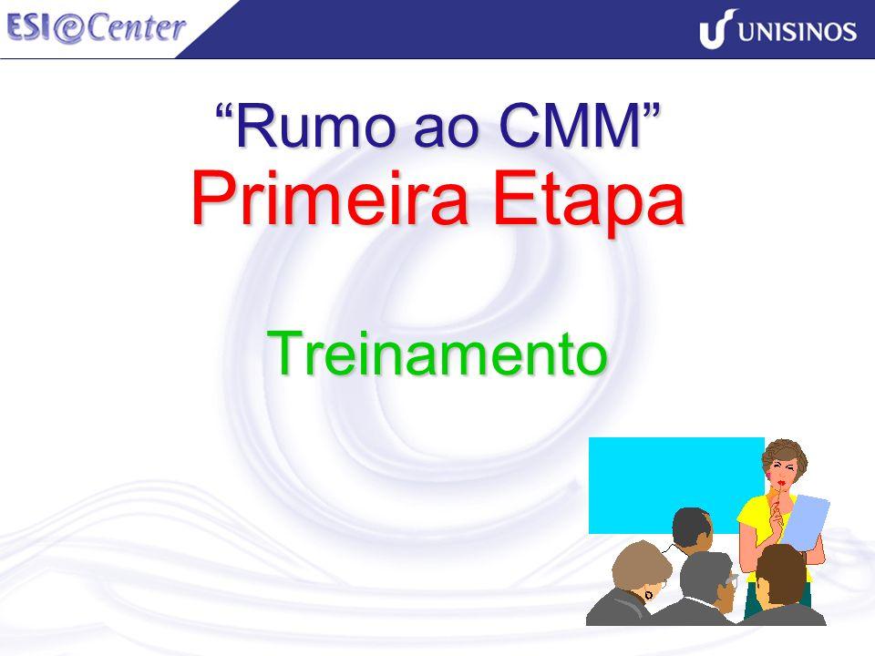 Rumo ao CMM Primeira Etapa Treinamento
