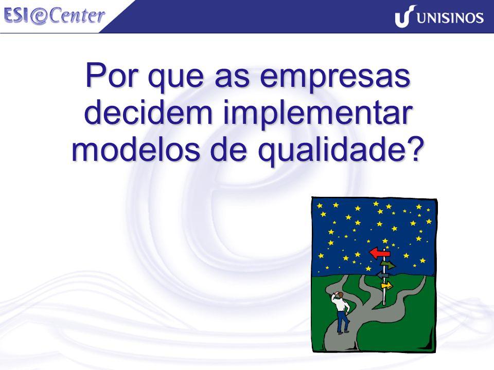 Por que as empresas decidem implementar modelos de qualidade?