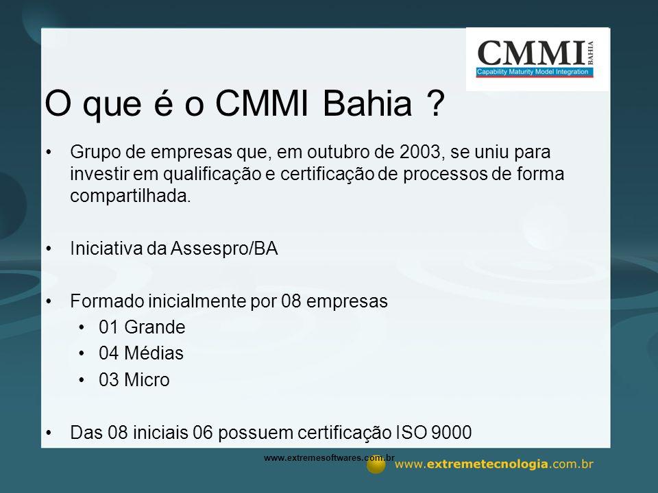 www.extremesoftwares.com.br O que é o CMMI Bahia .