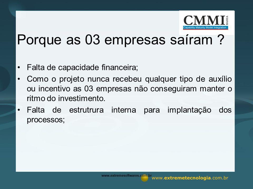 www.extremesoftwares.com.br Porque as 03 empresas saíram .