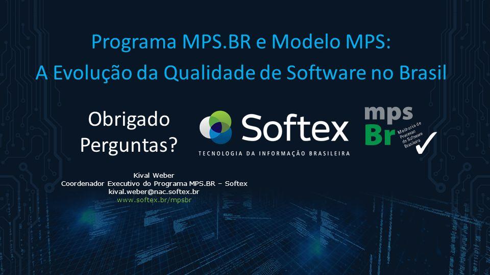 Kival Weber Coordenador Executivo do Programa MPS.BR – Softex kival.weber@nac.softex.br www.softex.br/mpsbr Programa MPS.BR e Modelo MPS: A Evolução d