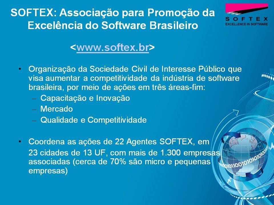 Maturidade do Processo de Software no Brasil em 2003 No início dos anos 2000, estudos mostraram que: era necessário um esforço significativo para aumentar a maturidade dos processos de software nas empresas brasileiras [MCT 2001] as empresas de software no Brasil favoreceram a ISO 9000 em detrimento de outras normas e modelos especificamente voltadas para a melhoria de processos de software como o CMM (antecessor do CMMI) [MIT 2003] Referências: [MCT 2001] Qualidade e Produtividade no Setor de Software Brasileiro [MIT 2003] Slicing the Knowledge-based Economy in Brazil, China and India: a tale of 3 software industries