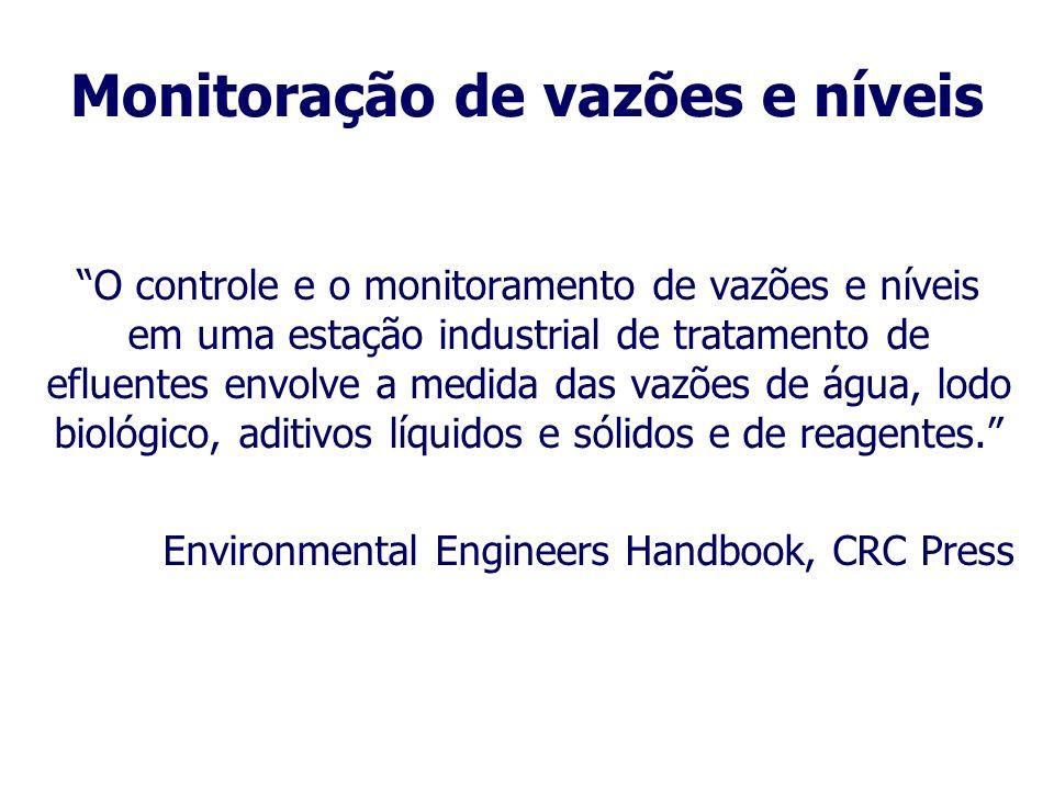 Monitoração em uma ETE Durante a operação de uma ETE, algumas atividades são rotineiras: 1. Manutenção do sistema de distribuição; 2. Coleta e análise