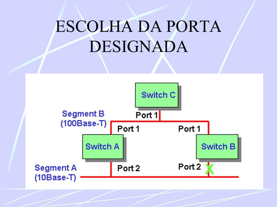 ESCOLHA DA PORTA DESIGNADA
