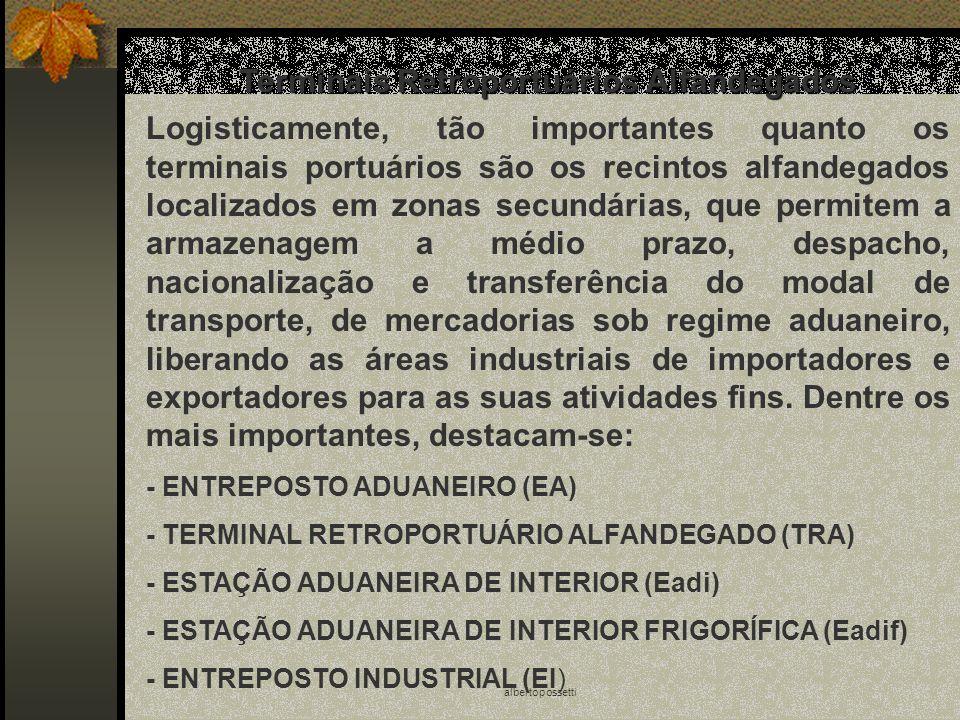 albertopossetti Terminais Retroportuários Alfandegados Logisticamente, tão importantes quanto os terminais portuários são os recintos alfandegados loc