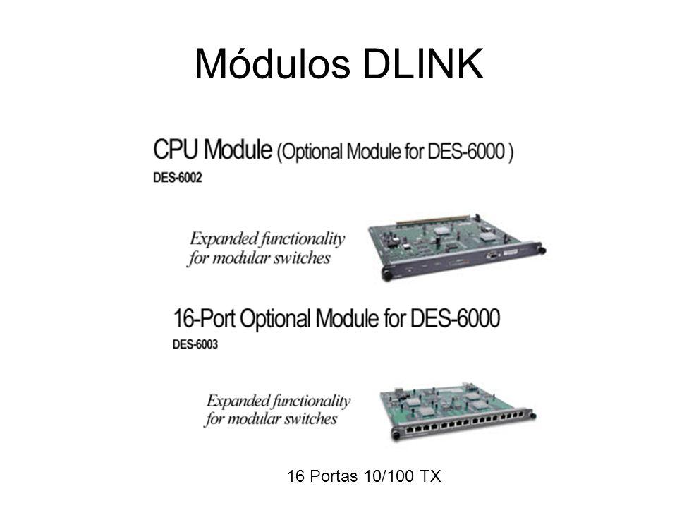 Módulos DLINK 2 Ports 1000 Base SX (MT-RJ) 2 Ports 1000 Base LX (SC)