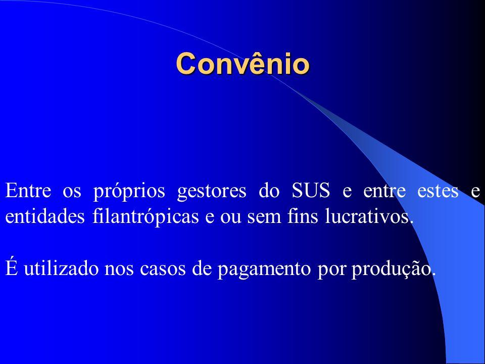 Termo de Compromisso entre Entes Públicos Ajuste firmado entre níveis de governo em que se pactuam o uso e as metas de uma determinada unidade prestad