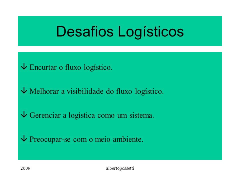 2009albertopossetti Desafios Logísticos âEncurtar o fluxo logístico.