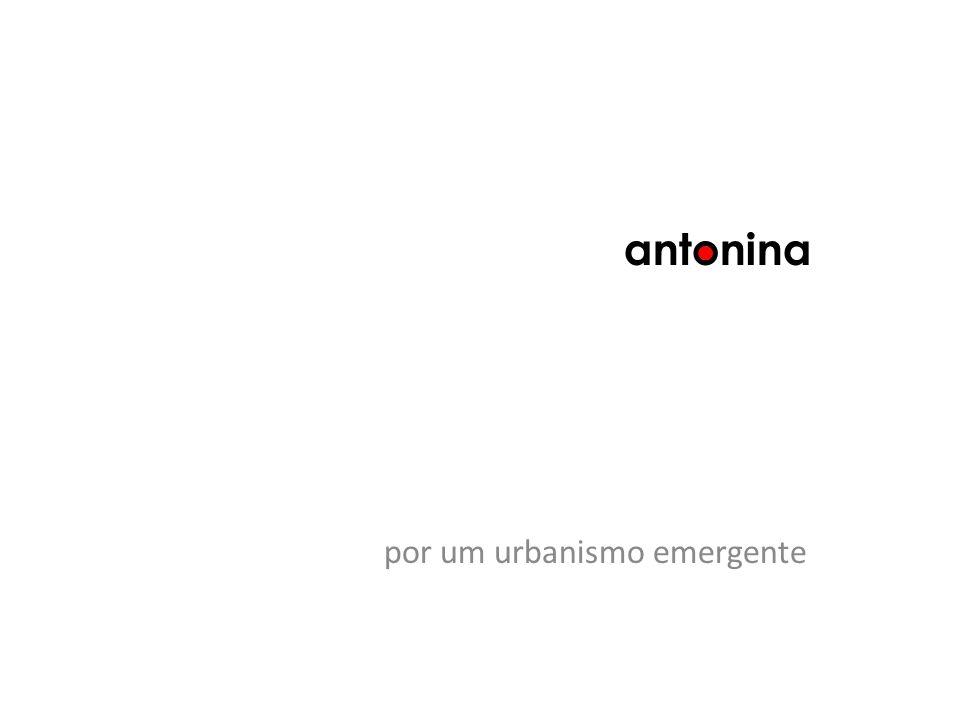 antonina por um urbanismo emergente