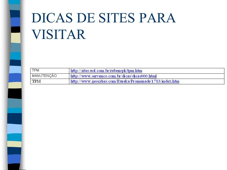 DICAS DE SITES PARA VISITAR