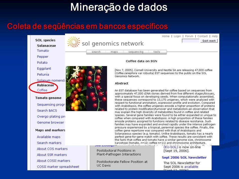Mineração de dados Análise de expressão diferencial