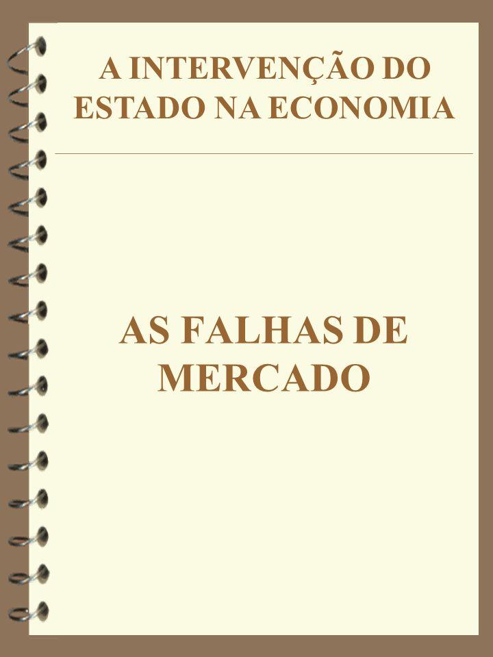 4 Os bens públicos não podem ser fornecidos de forma compatível com as necessidades da sociedade através do sistema de mercado.