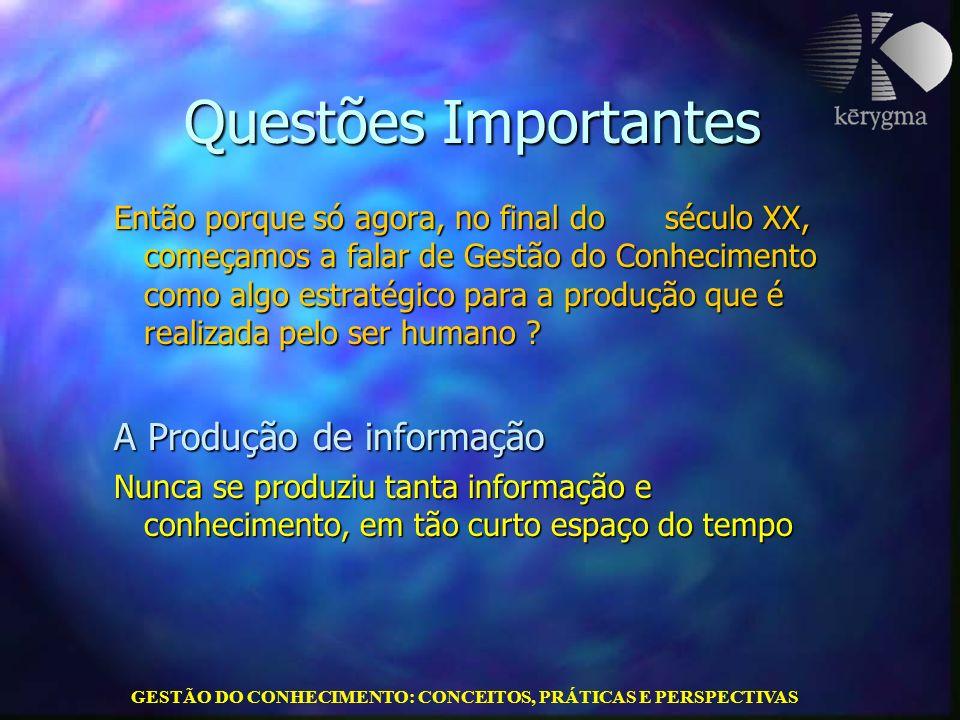 GESTÃO DO CONHECIMENTO: CONCEITOS, PRÁTICAS E PERSPECTIVAS Conclusões e saber gerenciar conhecimentos !!.