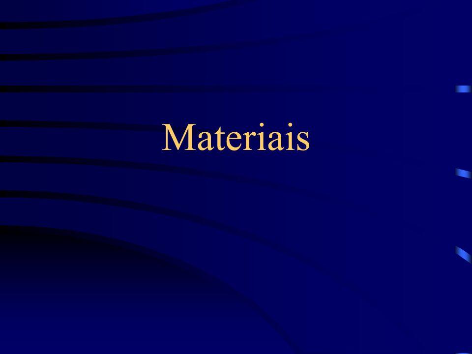 Classificação dos Materiais.