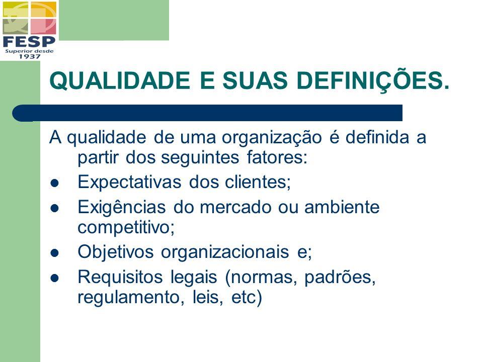 ADMINISTRAÇÃO POR PROCESSOS A família de padrões ISO 9000:2000 é baseada na gestão por processos.