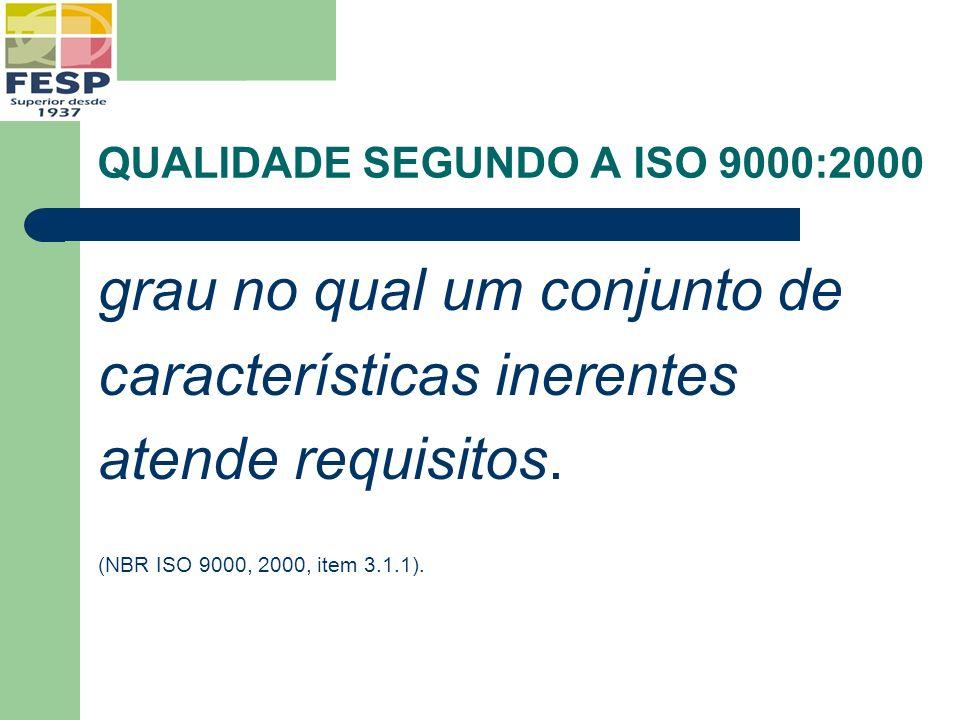 Uma organização certificada ISO 9001:2000 possue: 1.