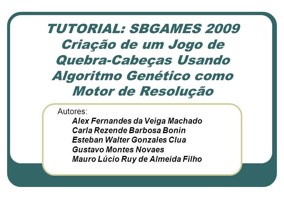 Realização da Mutação for qnt:=1 to taxa1 do begin gene:=1+random(nmovimentos); muta:=random(51); ssomo[contador13][gene]:=muta; end; //guarda o resultado da mutação for contador3:=1 to 10 do begin for contador4:=1 to nmovimentos do begin cromossomo[contador3+20][contador4]:=ssomo[contador3][contador4]; end;