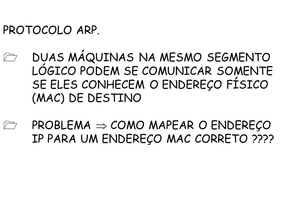 PROTOCOLO ARP.
