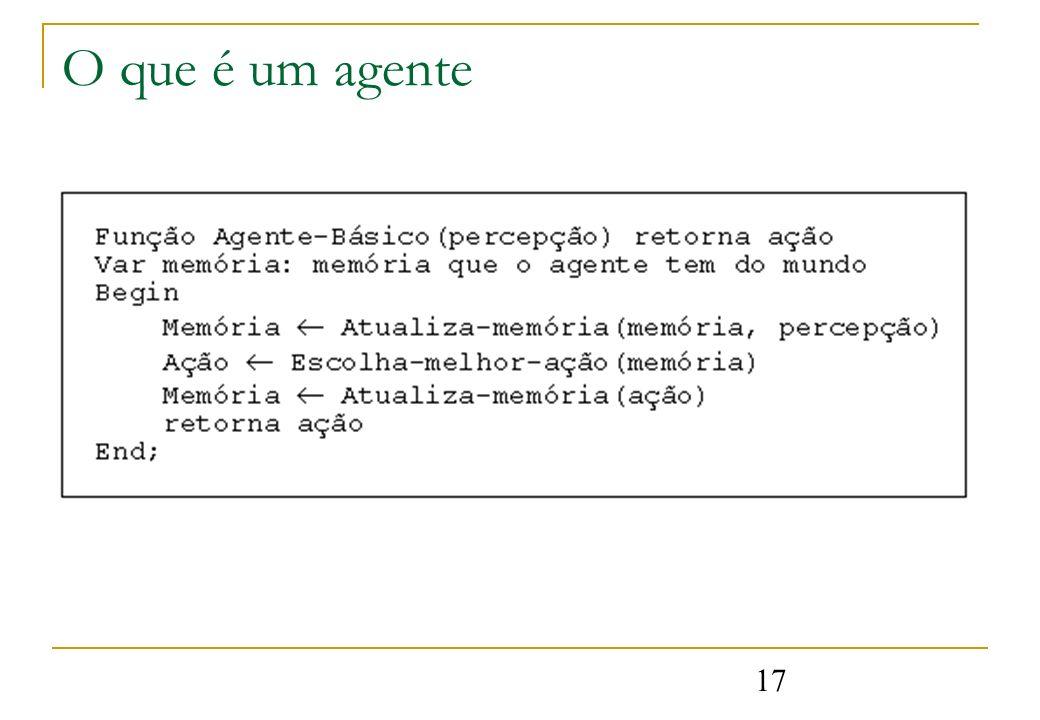 17 O que é um agente