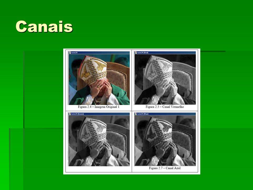 Histograma O histograma de uma imagem revela a distribuição dos níveis de cinza da imagem.