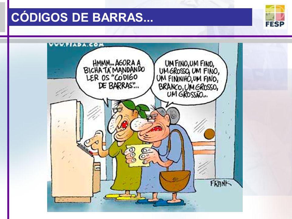 CÓDIGOS DE BARRAS...