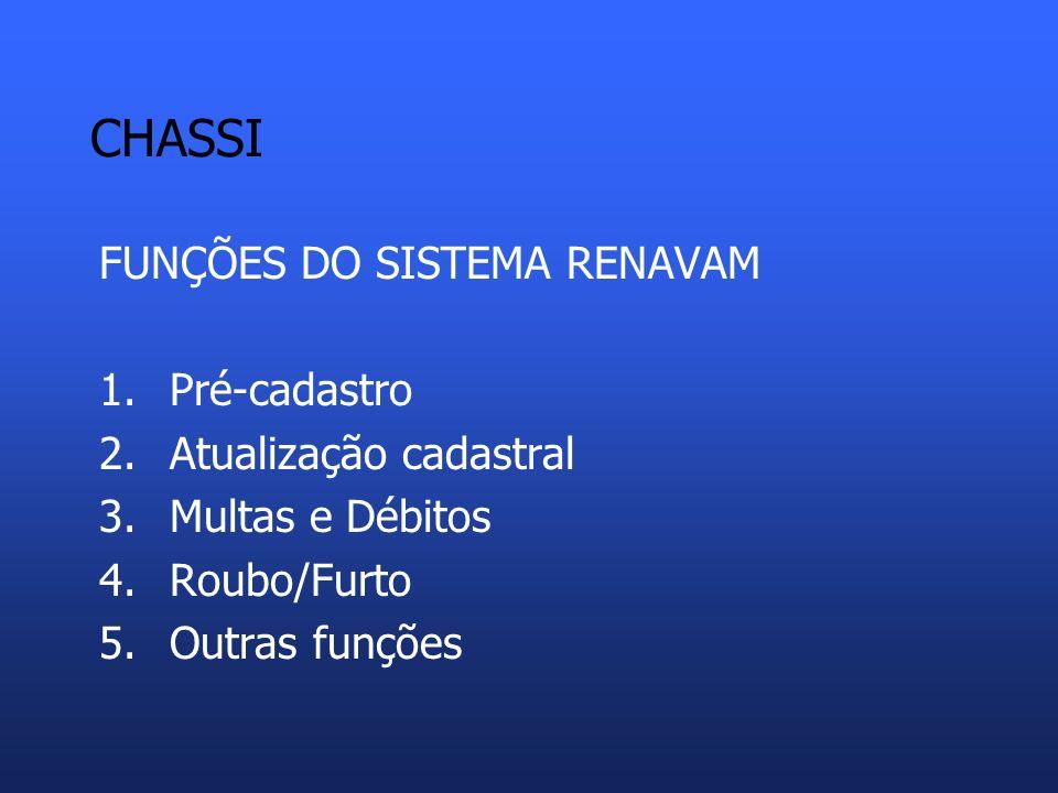 CHASSI Scania – Brasil/ Argentina W M I 9 B S 1 2 3 NUMERAÇÃO DE CHASSI EXEMPLO 1
