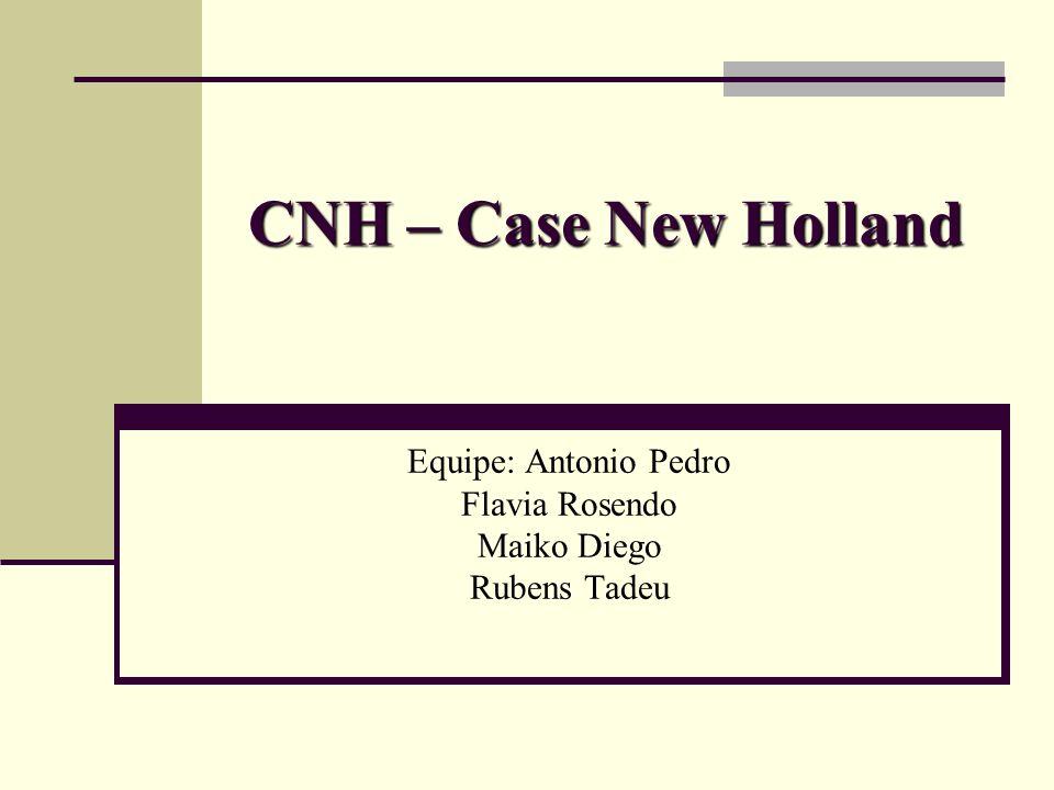 Introdução Nesse trabalho temos como objetivo apresentar um projeto que ainda esta em desenvolvimento na CNH.