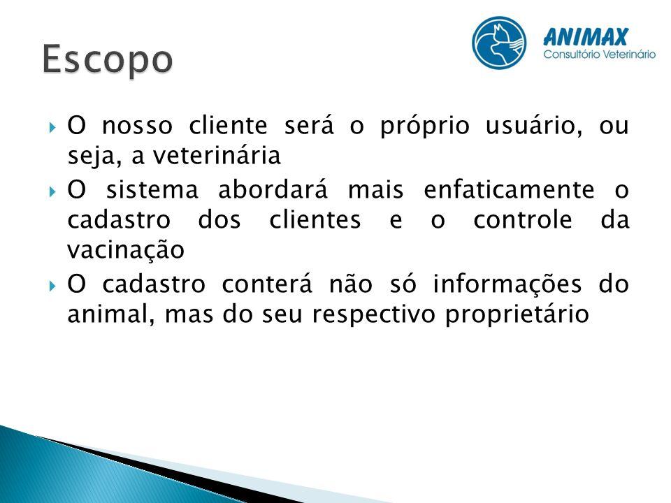 O projeto conta com a participação de cinco integrantes que dividirão as atividades de desenvolvimento.