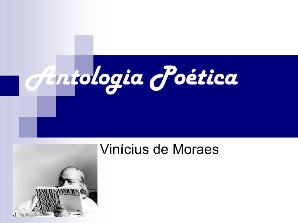 Antologia Poética Vinícius de Moraes
