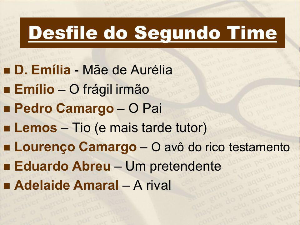 Desfile do Segundo Time D.