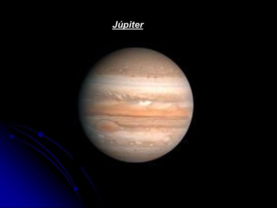 Júpiter É o maior planeta do sistema solar: 2,5 vezes do tamanho de todos os outros planetas juntos.