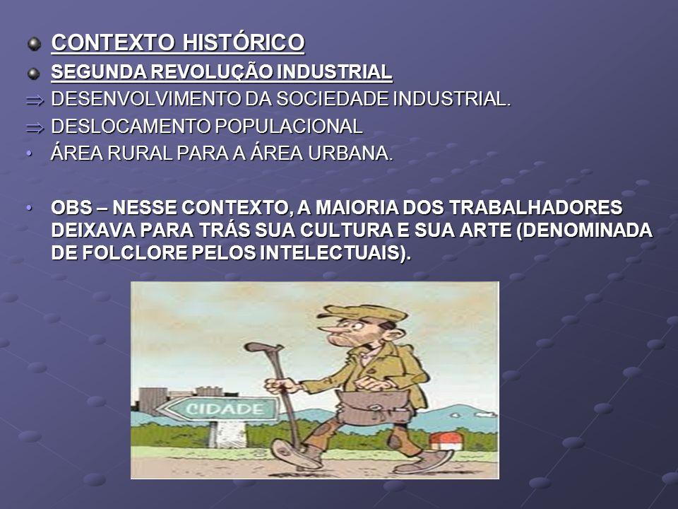 CONTEXTO HISTÓRICO SEGUNDA REVOLUÇÃO INDUSTRIAL DESENVOLVIMENTO DA SOCIEDADE INDUSTRIAL. DESENVOLVIMENTO DA SOCIEDADE INDUSTRIAL. DESLOCAMENTO POPULAC