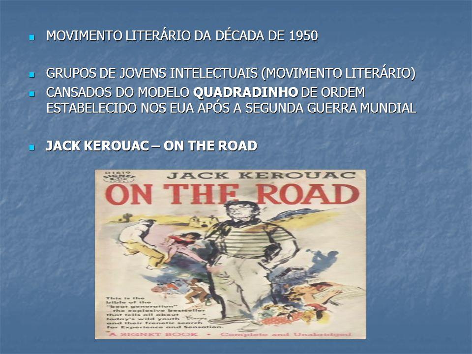 MOVIMENTO LITERÁRIO DA DÉCADA DE 1950 MOVIMENTO LITERÁRIO DA DÉCADA DE 1950 GRUPOS DE JOVENS INTELECTUAIS (MOVIMENTO LITERÁRIO) GRUPOS DE JOVENS INTEL