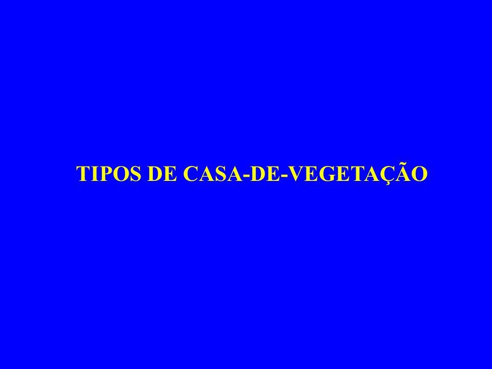 TIPOS DE CASA-DE-VEGETAÇÃO