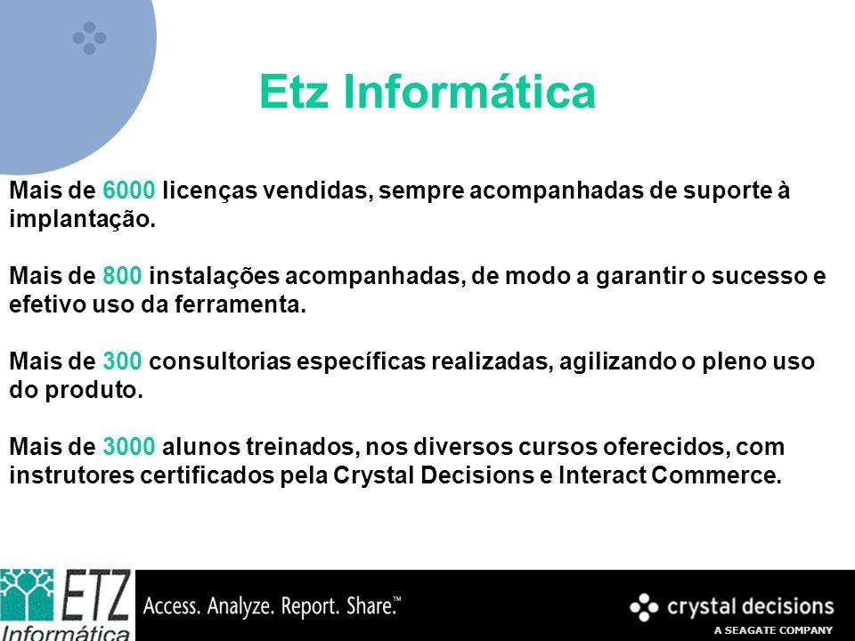 A SEAGATE COMPANY Exemplo de Relatório Boletim Escolar (ideal via Web)