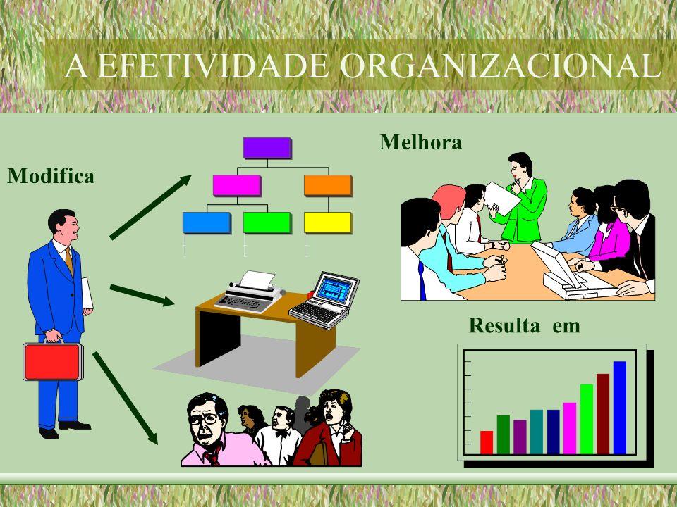 Modifica Melhora Resulta em A EFETIVIDADE ORGANIZACIONAL