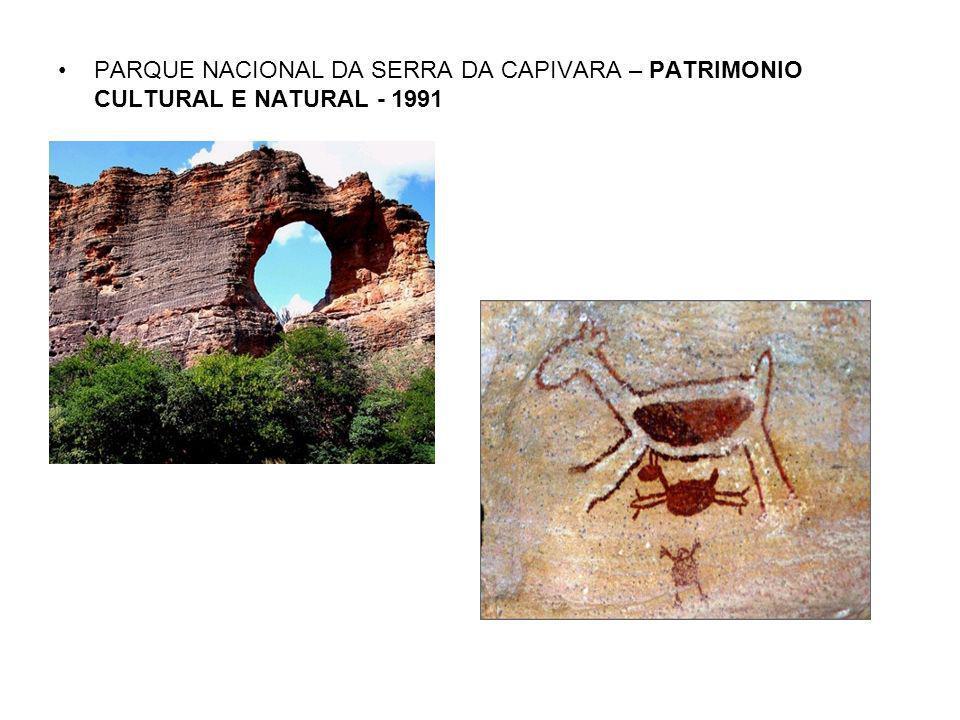 PLANO PILOTO – BRASILIA – DF – PATRIMONIO CULTURAL - 1987