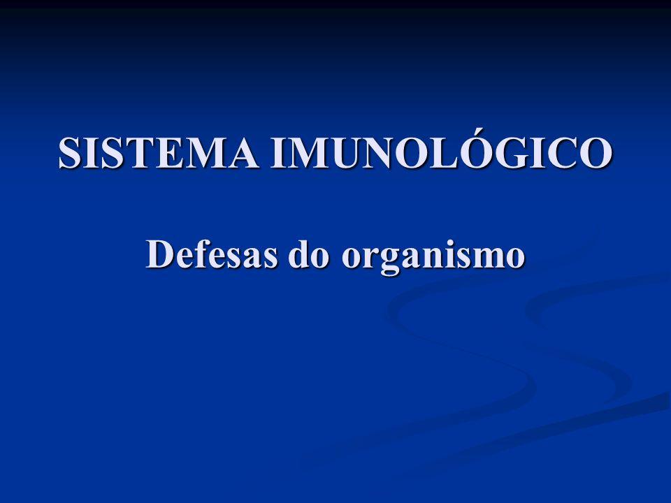 I.Introdução:. Imunologia – estudo do sistema imunológico..