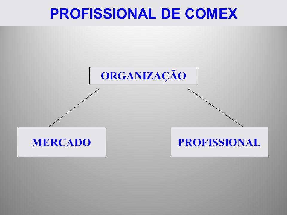 PROFISSIONAL DE COMEX ORGANIZAÇÃO MERCADOPROFISSIONAL