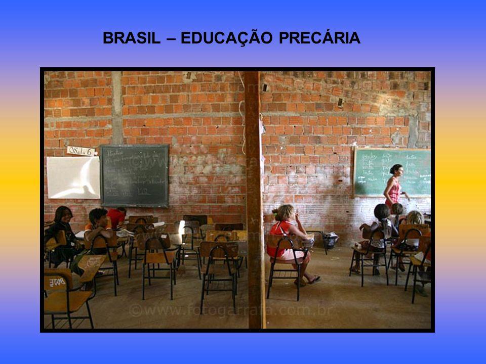 BRASIL – EDUCAÇÃO PRECÁRIA