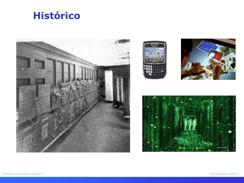 INTERFACE HOMEM-MÁQUINA PROFESSOR SAMUKA Histórico